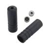 Tope sellado funda cambio ( 4 mm ) Plástico Negro ( 100 pcs )