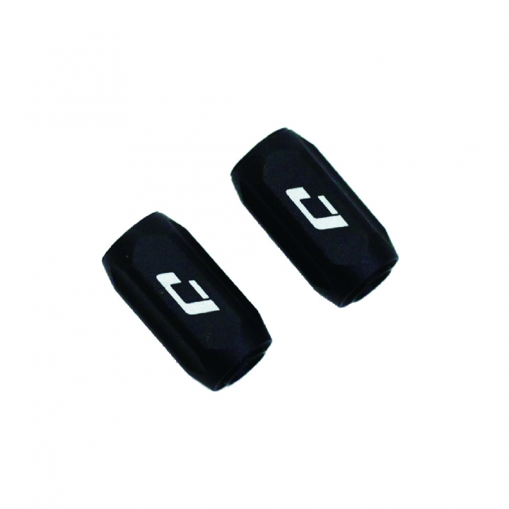 Pro Mini reguladores funda cambio 4mm Negro (2 pcs )