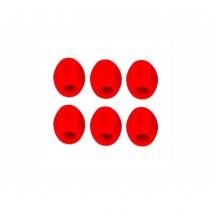 Mini protector cuadro bicicleta Rojo ( 20 juegos de 6 piezas) JAGWIRE