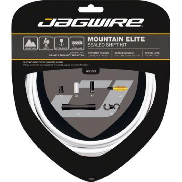 Kit sellado Elite cambio MTB SRAM/Shimano - Blanco