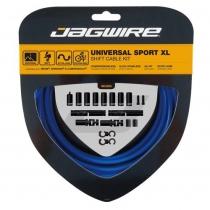 Kit cambio de bicicleta SPORT XL para SRAM/Shimano Campagnolo azul ROAD/MTB JAGWIRE