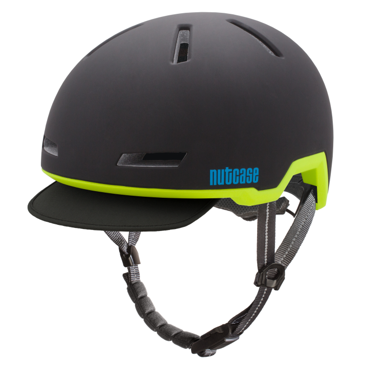 Casco Eclipse Black (Mate), Tracer de NUTCASE.