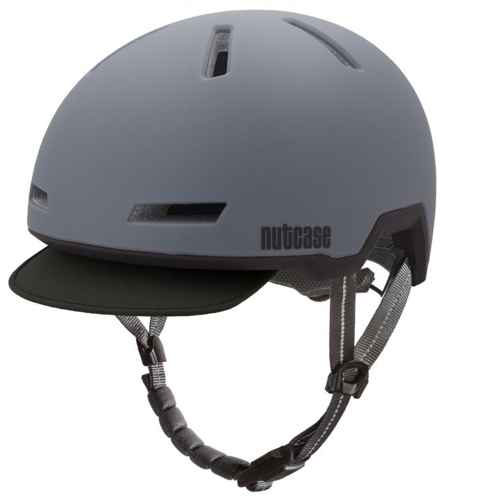 Casco Shadow Grey (Mate), Tracer de NUTCASE.