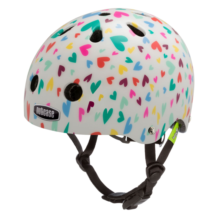 Casco Happy Hearts, Baby Nuty de NUTCASE.