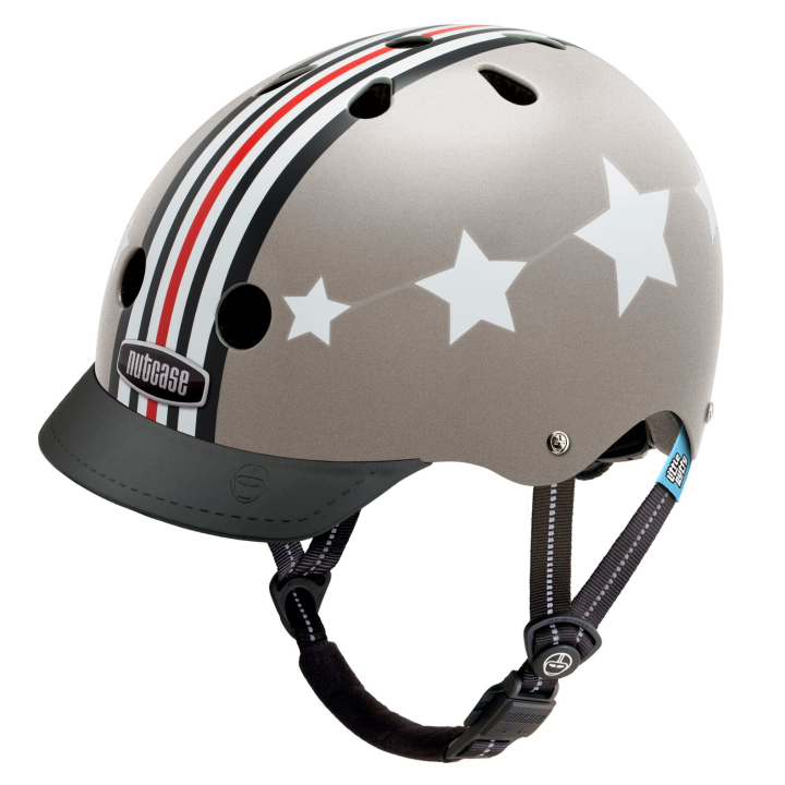 Casco Silver Fly, Junior de NUTCASE.