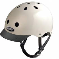 Casco Cream (Mate), Street Sport NUTCASE