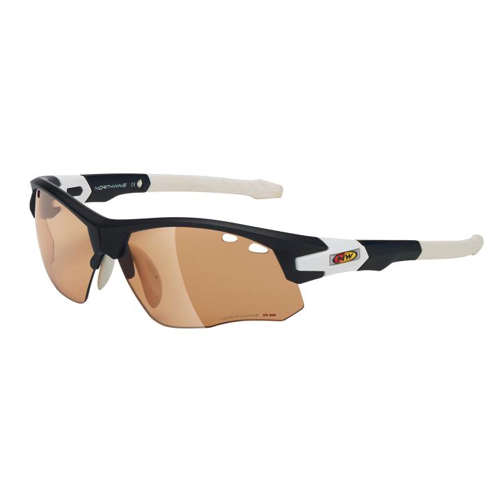 GALAXY Fotocromatica Gafas Con Adaptador Optico Negro Mate-Blanco
