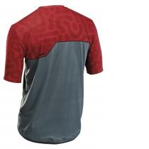 Camiseta m/c ENDURO MTB Petrol-Rojo