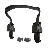 2 Ganchos QL2.1 Asa Ajustable, 16mm Casquillo 8,  , 16mm Casquillo 8,  10 y 12mm ORTLIEB
