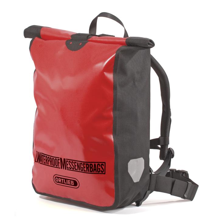 MESSENGER BAG Bolsa 39L Rojo-Negro ORTLIEB