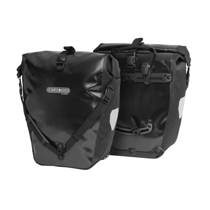 BACK-ROLLER CLASSIC QL2.1  Alforja Travel (2x)20Litros Negro PAR ORTLIEB
