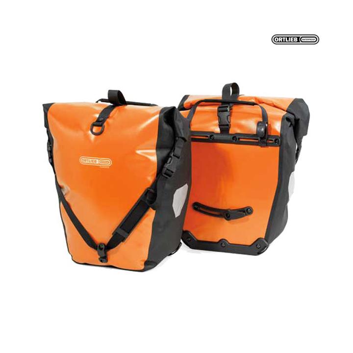BACK-ROLLER CLASSIC QL2.1 Alforja Travel (2x)20Litros Naranja PAR ORTLIEB