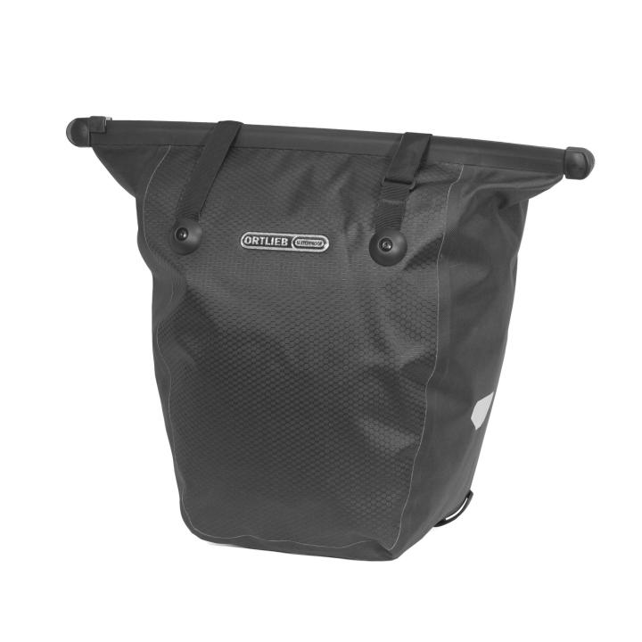 BIKE-SHOPPER QL2.1 Bolsa 20L Slate-Negro ORTLIEB