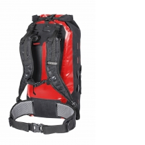 GEAR-PACK Bolsa Viaje 25L Negro-Rojo