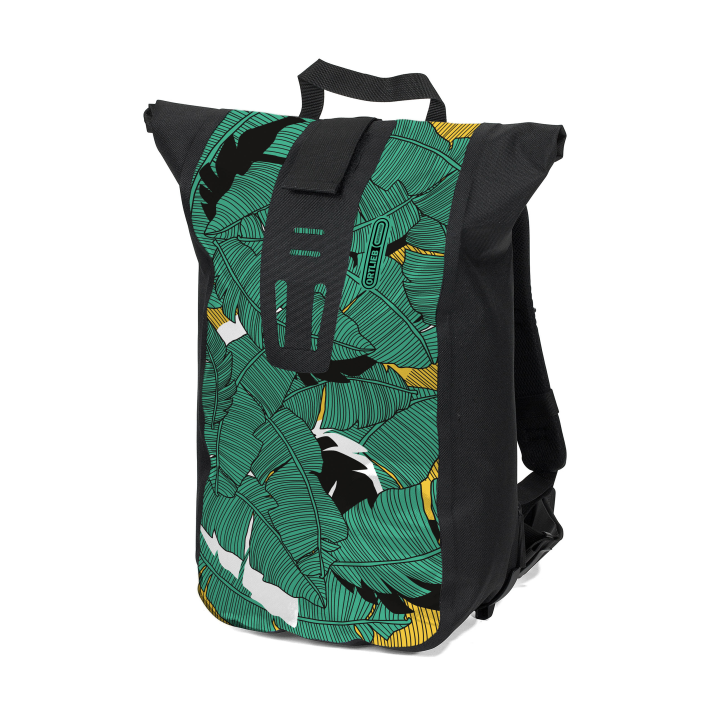 VELOCITY DESIGN Mochila Jungle 24L Verde-Negro ORTLIEB