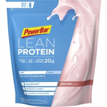 Proteina en polvo PROTEIN LEAN STRAWBERRY 500gr   *4 BOLSAS POWERBAR