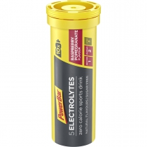 Bebida isotónica ELECTROLYTES 12 tubos RASPBERRY+POMEGRANATE POWERBAR