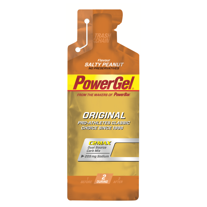 POWERGEL+Sodio SALTY PEANUT 24 u