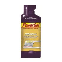 Gel de hidratos de carbono líquido POWERGEL GROSELLA (con CAFEINA) 24 u POWERBAR