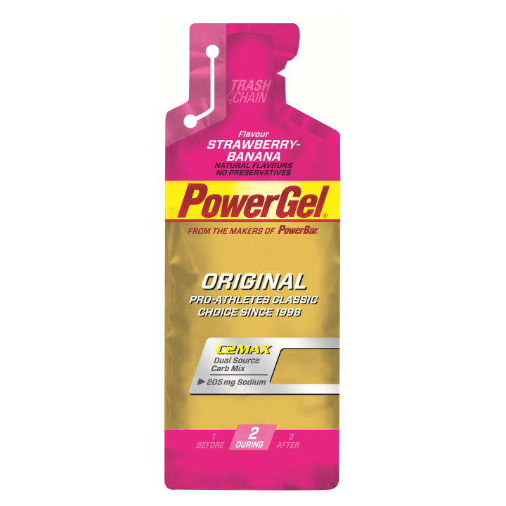 POWERGEL + Sodio FRESA/BANANA 24u