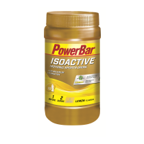 Bebida isotónica BOTE ISOACTIVE 600 gr LIMON POWERBAR