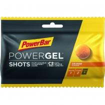 POWERGEL SHOTS con relleno líquido NARANJA 60gr *16u POWERBAR
