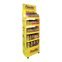 EXPOSITOR PVC Amarillo POWERBAR