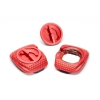 Calas para pedales Speedplay Zero Aero Pave Walkable color Rojo